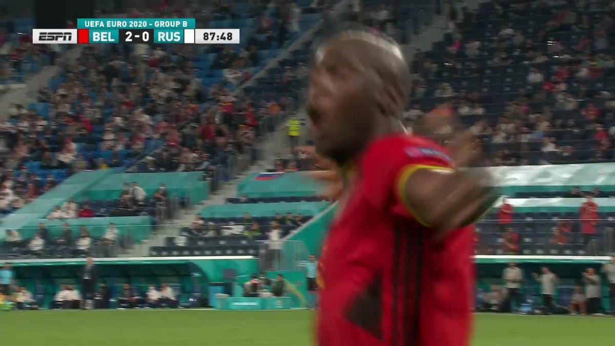 Lukaku double 👊  He's off to a hot start 🔥 https://t.co/kGNKMa78pB