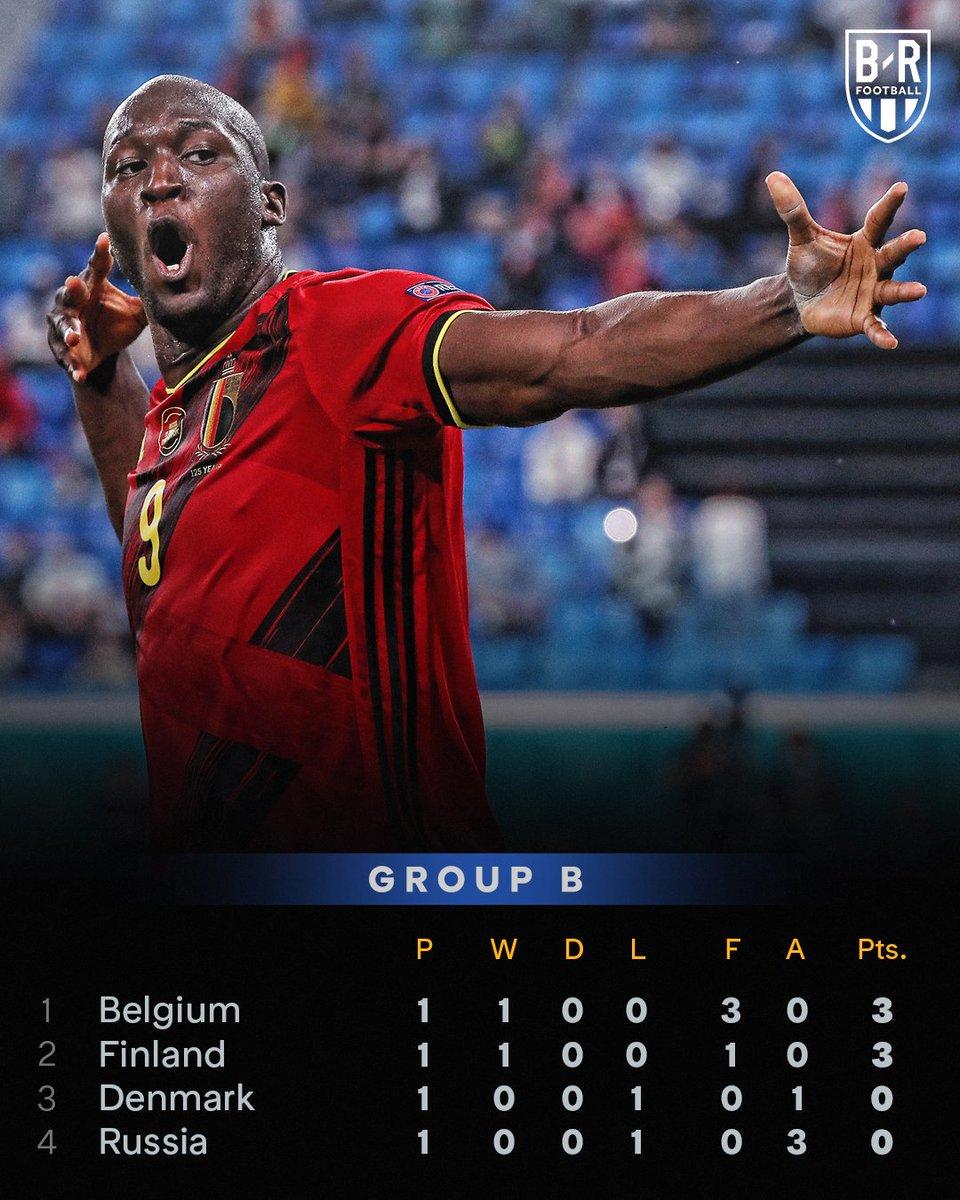 Romelu Lukaku starts hot as #BEL head to the top of Group B #EURO2020 ⚽️⚽️ https://t.co/jIW98hBR67