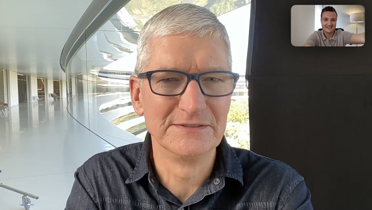 I had the great honor to have a call with @tim_cook. Technology is enriching our lifes and will help us face the next major challenges. So inspiring, thank you so much Tim! https://t.co/JKnTi3Ci8L