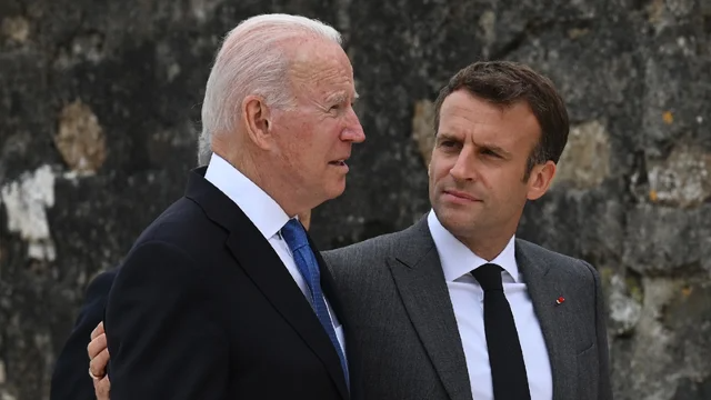 "Biden has convinced allies ""America is back,"" says France's Macron https://t.co/10Dy62g0hi https://t.co/HRSSRXaPoN"