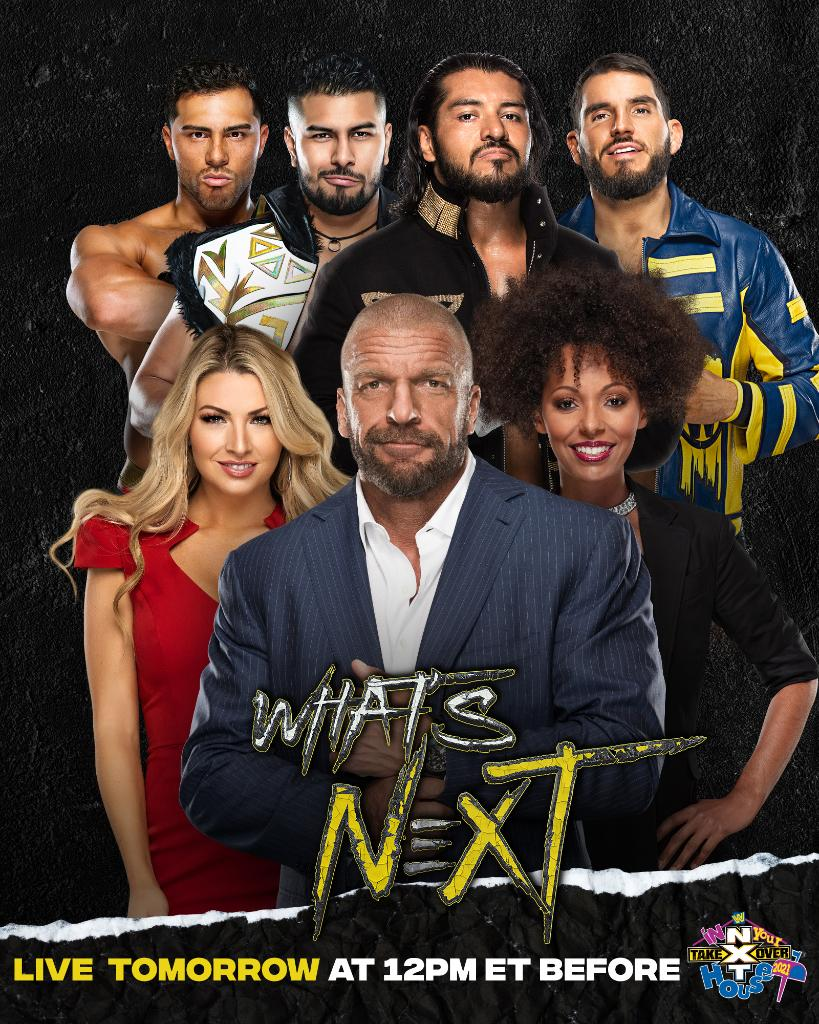 An exclusive interview just hours before #NXTTakeOver on @peacockTV…  #WeAreNXT #WWENXT