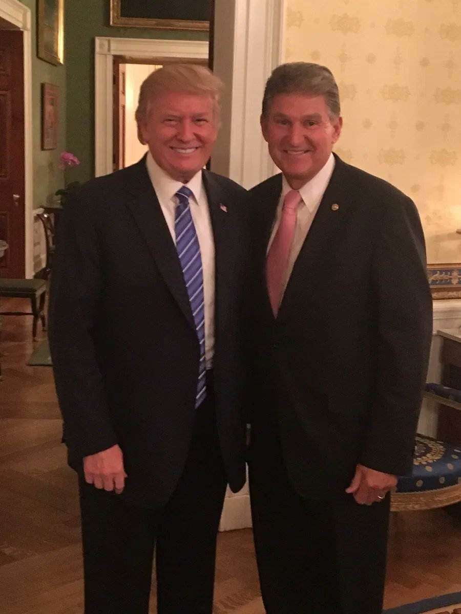 You're a traitor to this country and to the people who elected you, @Sen_JoeManchin.