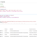 Image for the Tweet beginning: Use #Microsoft365Defender advanced hunting for