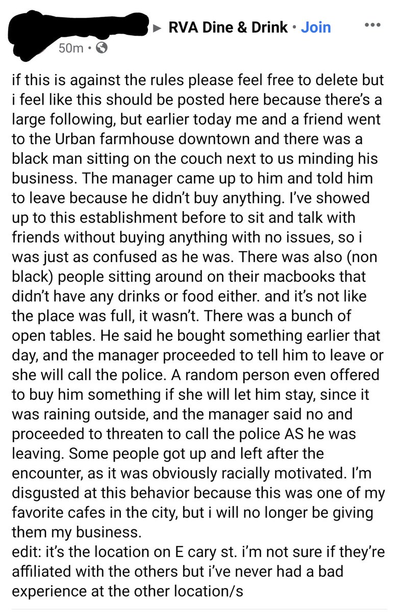 RT @RVA_Restaurants: What's up with this @urbanfarmhouse ? https://t.co/Sx7gW2x8Xb