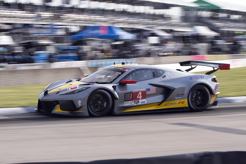 The No. 4 Corvette Racing C8.R team won the Detroit Grand Prix