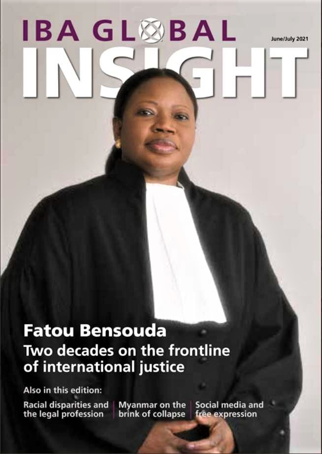 """📢 #ICC Prosecutor #FatouBensouda sits down w/t @IBAnews' @ruthsgreen for a Global Insight feature: """"My approach has always been grounded in trying to apply the law & to apply it w/t impartiality, objectivity & independence.""""⚖️ #JusticeMatters ⤵️ https://t.co/epLEd4JjzM https://t.co/enUbKfFYMJ"""