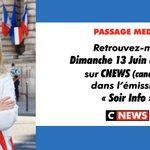 Image for the Tweet beginning: 📺 À ce soir, à