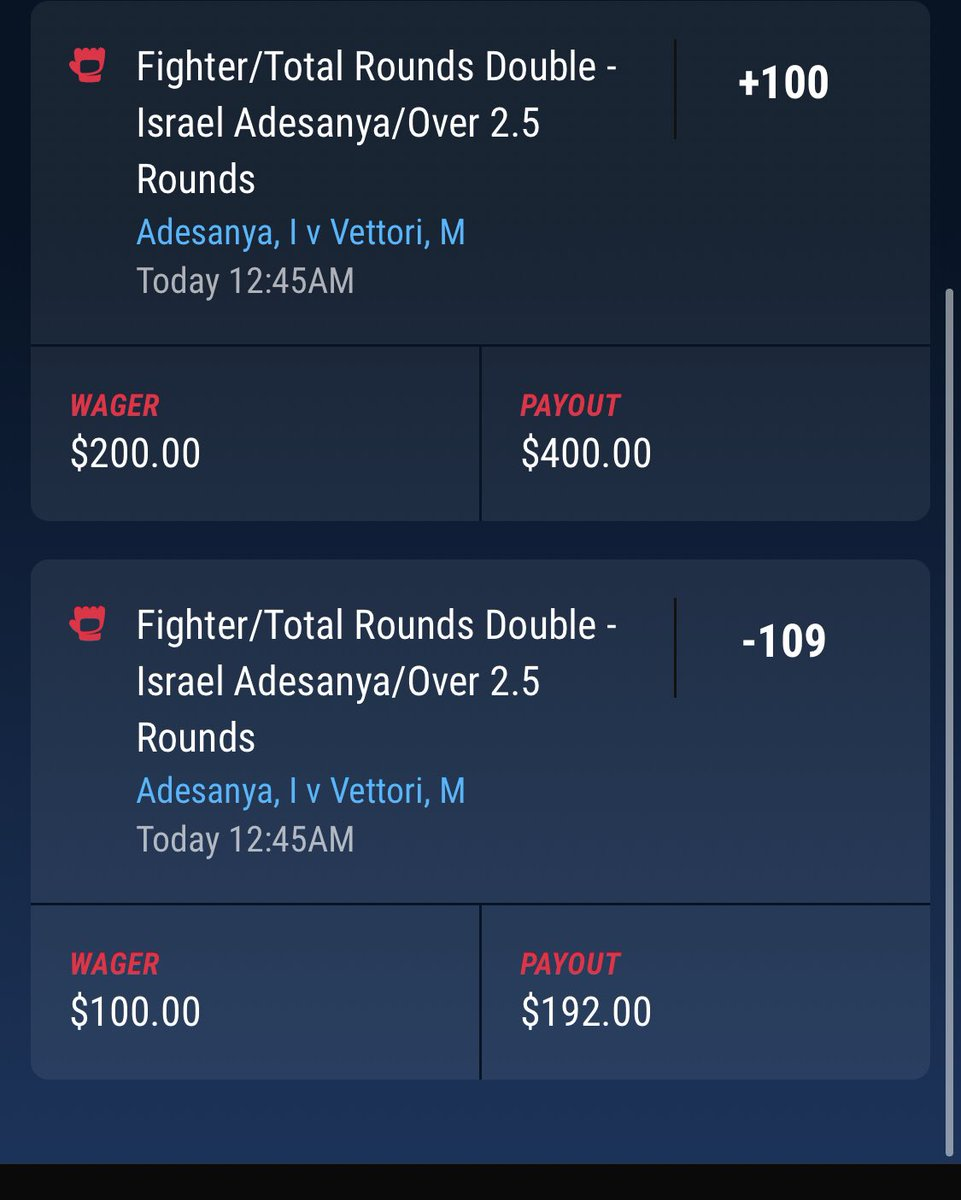 Had to triple down after losing my $100 parlay with Fig. I knew a couple main card dogs were gonna be barking. Once Hill and Fig lost, I knew to let it rip on Izzy. A couple bad reads on the night but we live to bet another day. Hope you guys did well on your picks! #UFC263 https://t.co/rl9IXjQg18