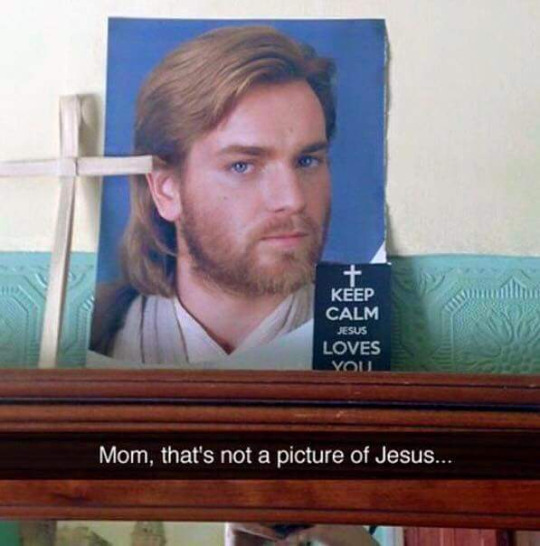 I think Jesus's story would have a better ending if he had a lightsaber. Plus The Bible would so fun to read. https://t.co/TGQiE8N40W