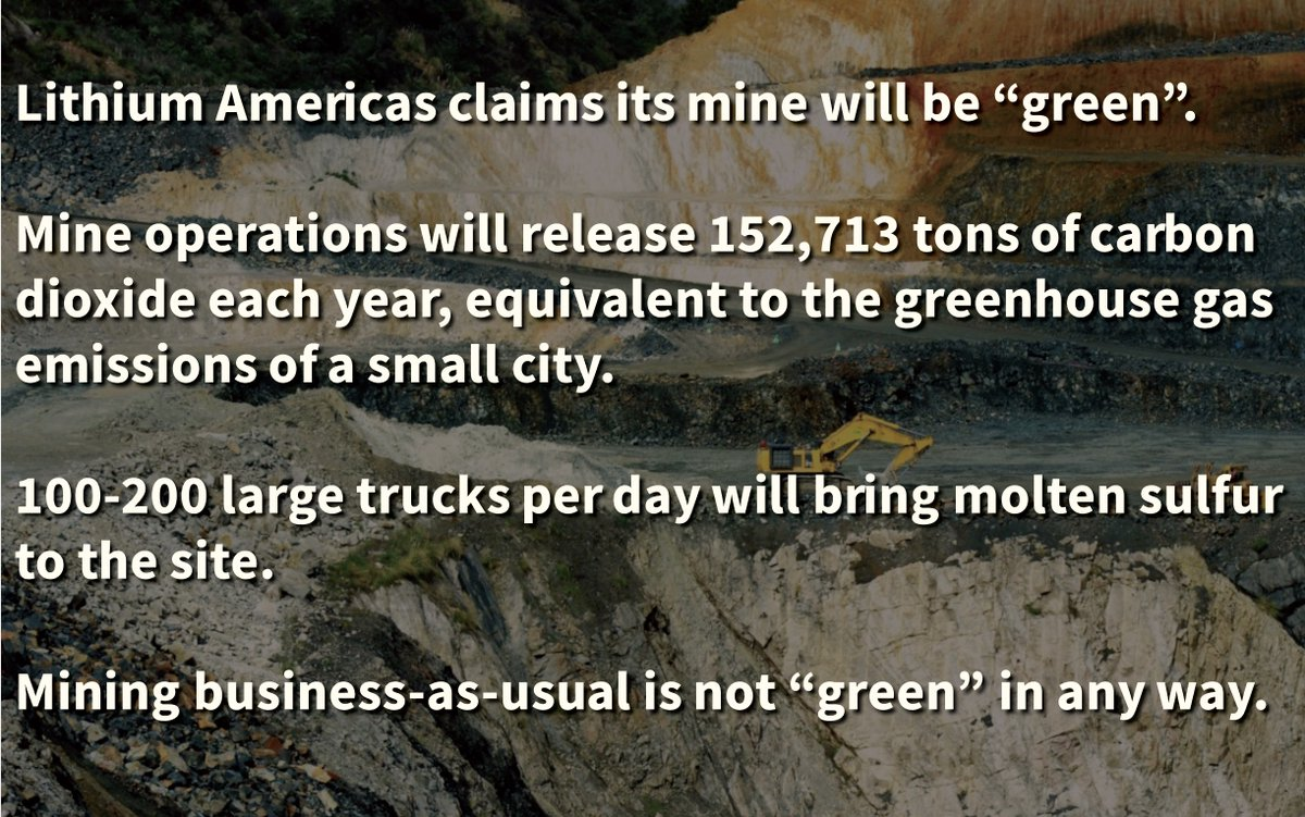 """""""Besides vast emissions and pollution & poisoning from mining, when the soil is blown large amounts of CO2 are released. And plants, insects die. As well as animals feeding and living in the land.""""Thread to read:"""