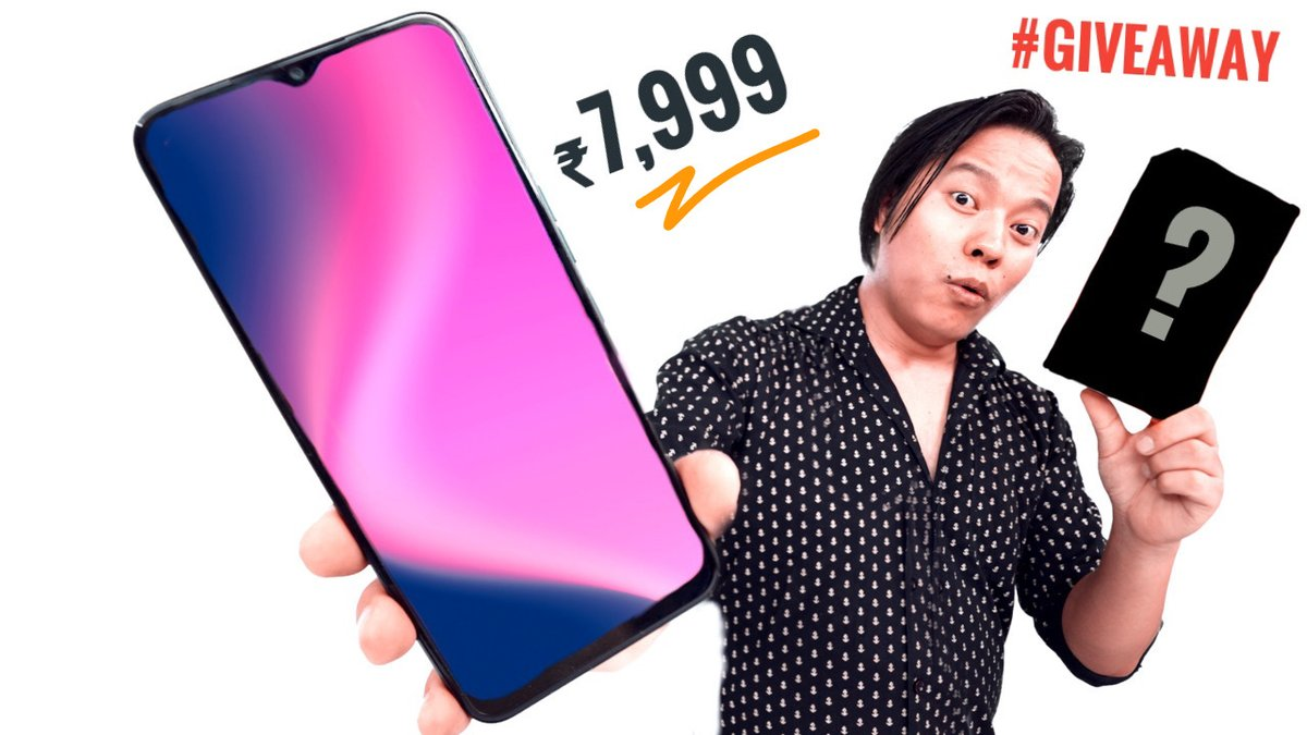 https://t.co/EeuVDBa7eA This New ₹7,999 Smartphone Will Surprise You 😳😳  Alright New Video is out on youtube & Yes I am Giving away this smaartphone so don't forget to Particiapte  * LIKE & Retweet This Post * #TechnolgyGyan #giveaway https://t.co/jmVGadv3Ma