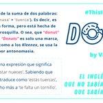 """Image for the Tweet beginning: ¿De dónde vienen los """"donuts""""?"""