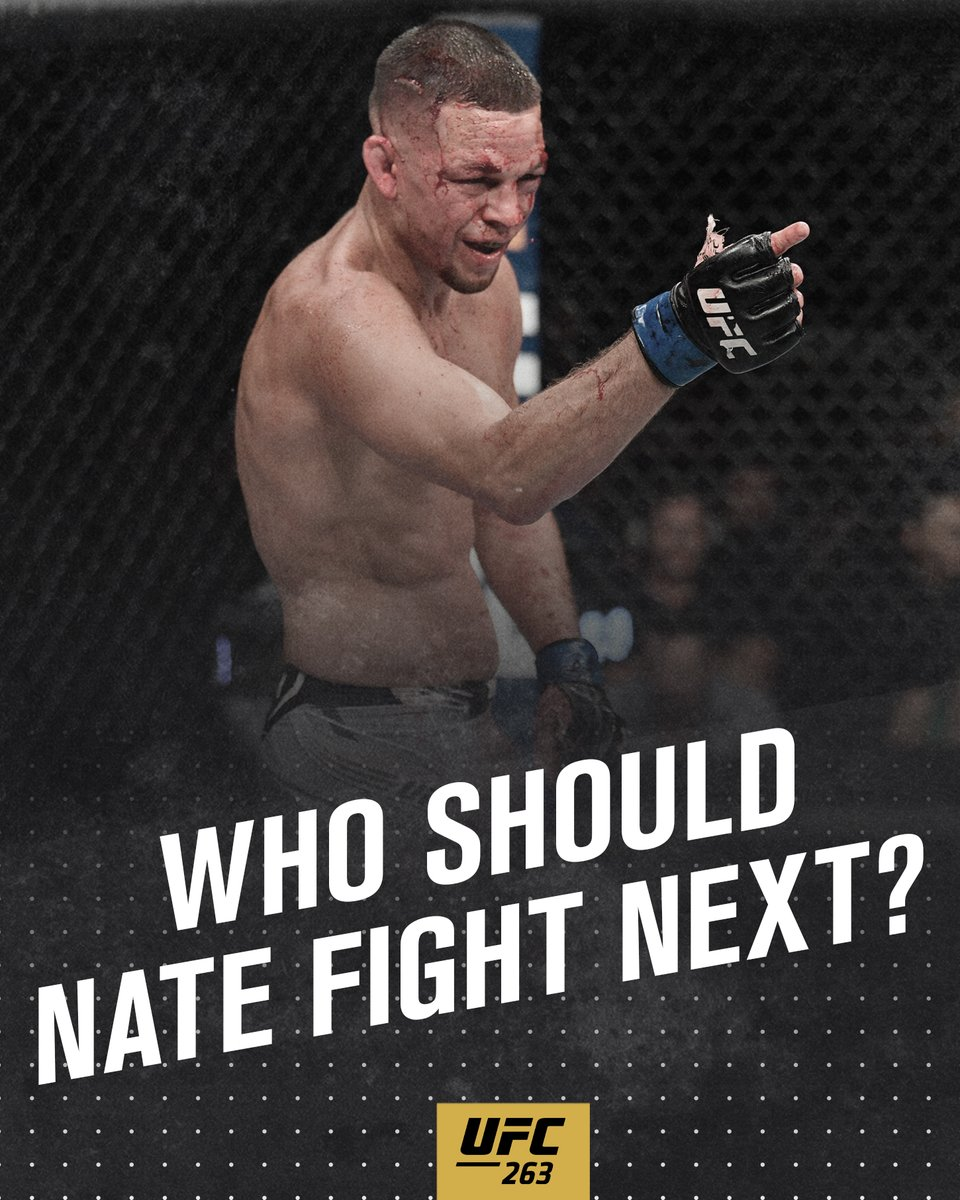 Who should Stockton's own square off with next? 🤔 #UFC263 https://t.co/Tger0HLboY
