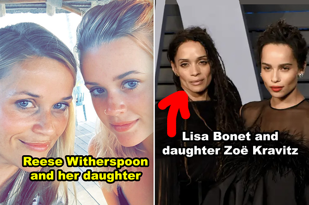 19 Celebs Who Look So Much Like Their Famous Family Members It's Scary Photo
