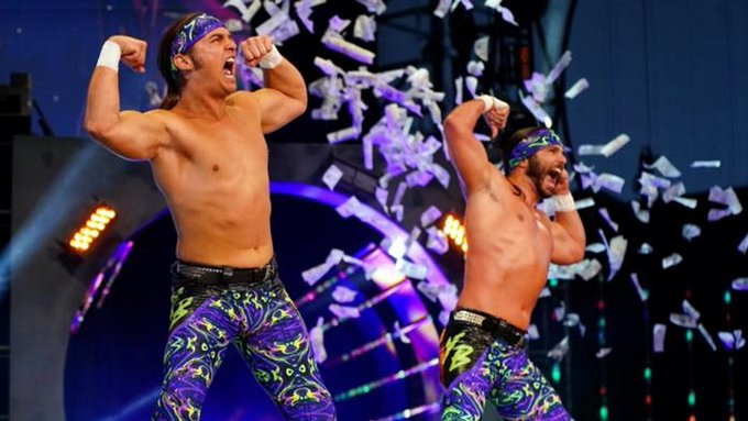 The Young Bucks appear at Impact Against All Odds Photo