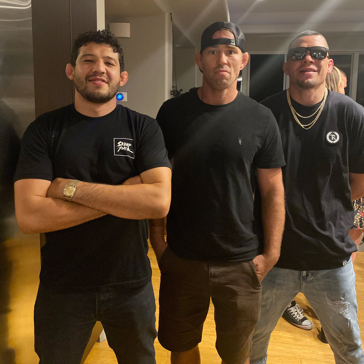 Win lose or draw brothers for life @NateDiaz209 @GilbertMelendez https://t.co/IKB5ybGEEc