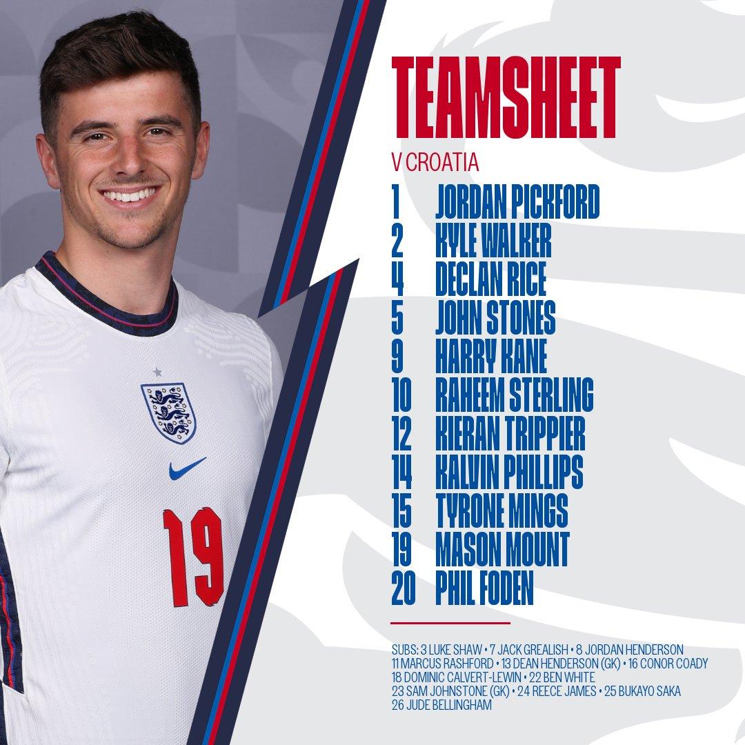 Good luck, @JPickford1 @CalvertLewin14! #ENG  #EURO2020