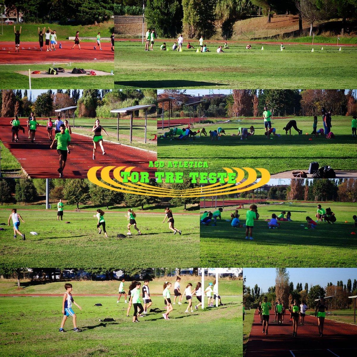 L'#atletica dell'#atleticatortreteste   #lazio #roma #fidalroma #fidallazio #atletica #atleticatortreteste #verdefluo #fit #fitness #tokio2020  #landscape #atuttocampo #bestmoments #allenamento #preparazione #concentrati https://t.co/OoBA1dSvSc