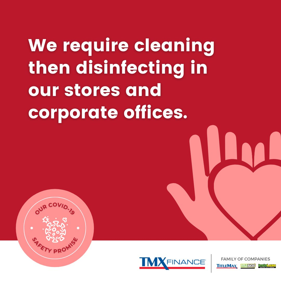 We remain dedicated to providing healthy, sanitary environments. We require stores to clean then disinfect surfaces, work tools, & stations after each customer and encourage corporate offices to clean then disinfect workstations & high-touch surfaces often. #COVID19SafetyPromise https://t.co/8L09mL8J2F