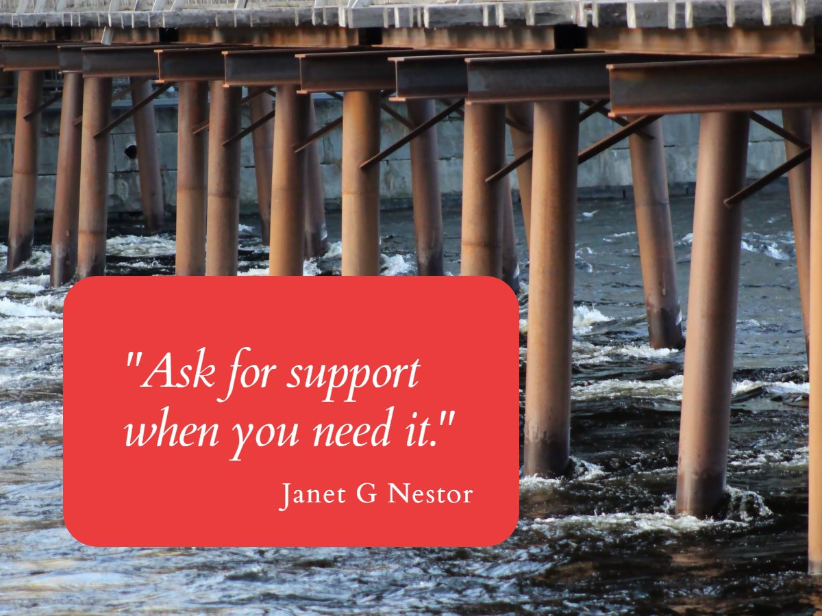 """Ask for help when you need it.""  #IAMChoosingLove #RadicalSelfCare #LUTL #MindfulLiving #Support #BetterTogether #ChooseLove #GoldenHearts #JoyTrain #IDWP https://t.co/qOXLE753qr"