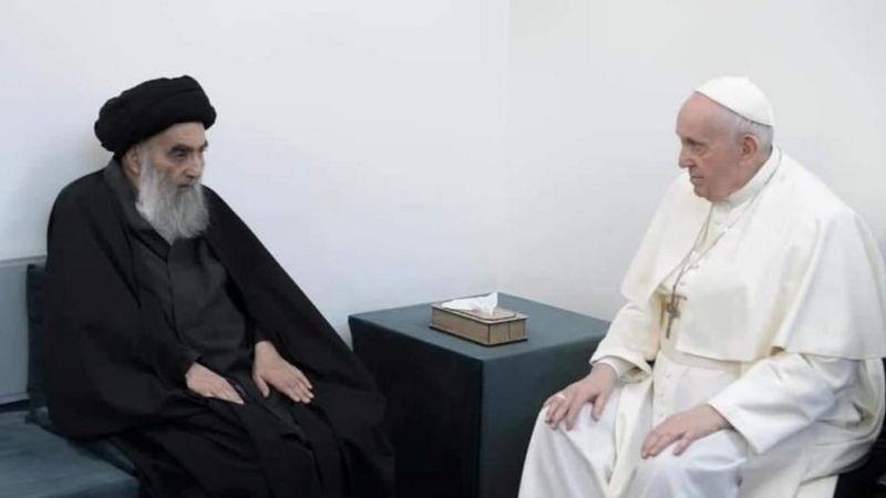 Francisco y Al Sistani