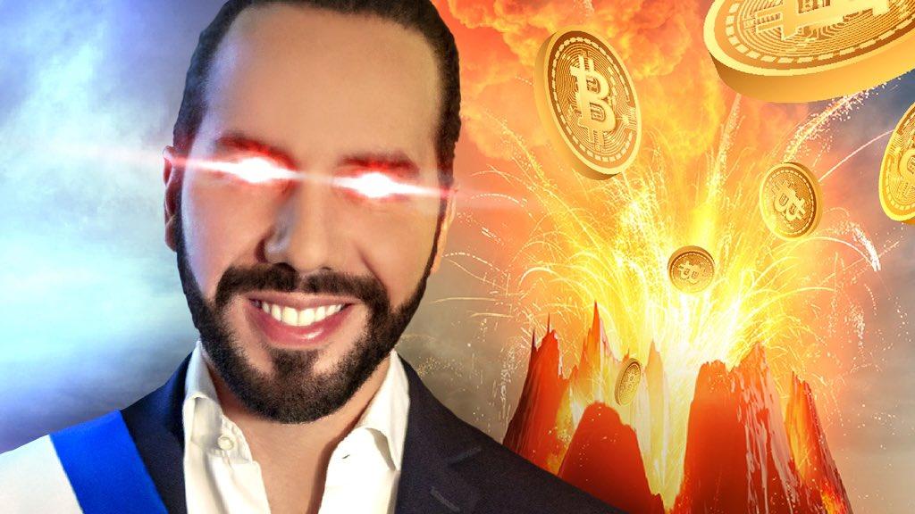 BITCOIN ist jetzt Geld – der Vulkan explodiert! (Politik in Angst und Panik)