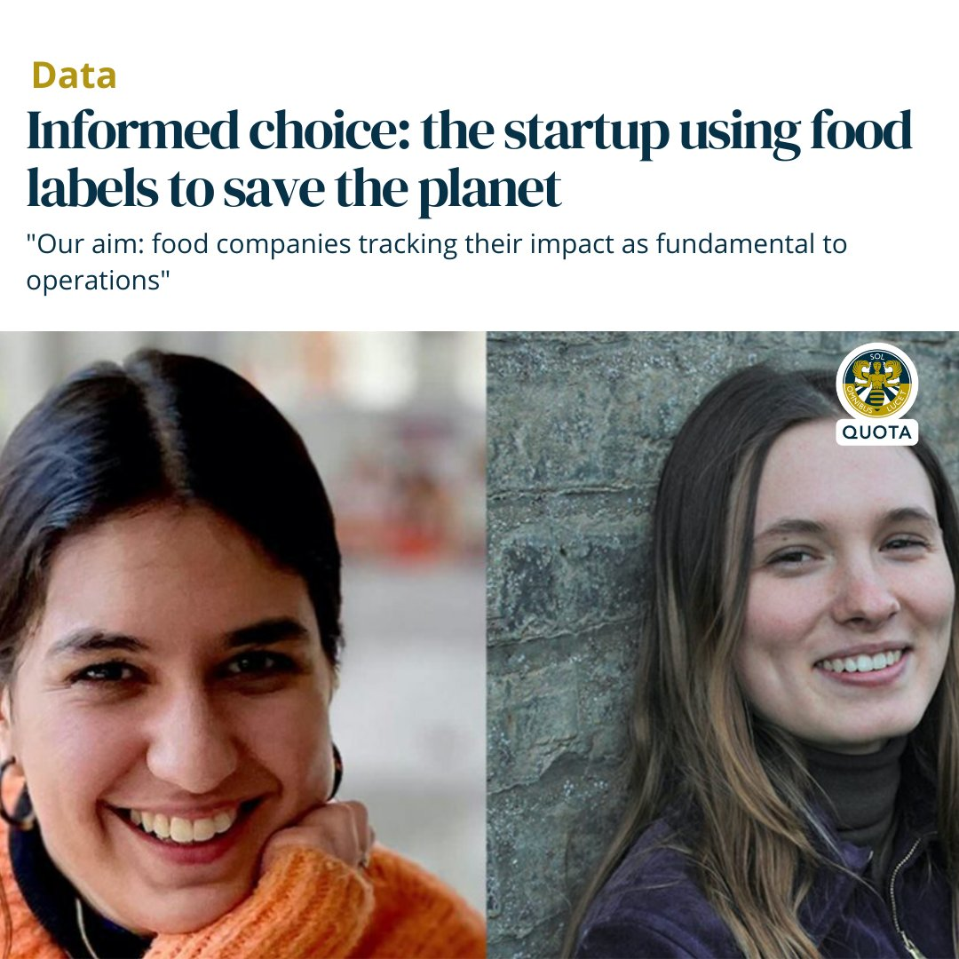 Developed with a grant from the @innovateuk Sustainable Innovation Fund, @foodstepsCO2 uses labels to help to inform consumers of the carbon impact of the food produce they're buying - encouraging more #sustainable decisions. 💚🌍  #InnovateUKFunded