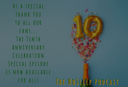 Brace yourselves for another ten years of terror...  As a thank you to all our fans for their ten years of support, here's a special anniversary episode  https://t.co/e2655exIFk…  Art by @JenTheTracy  #thankyou #SundayFunday #SundayMorning #horror #PodcastRecommendations