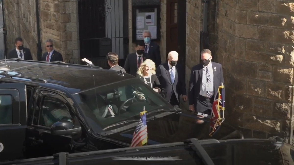 VIDEO Priest surprised as US President Joe Biden shows up for Sunday Mass