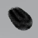 Image for the Tweet beginning: お題「たわし」 #深夜のモデリング60分一本勝負  #blender #b3d #3DCG  ちょい遅刻 レンダリングは時間内には無理だった
