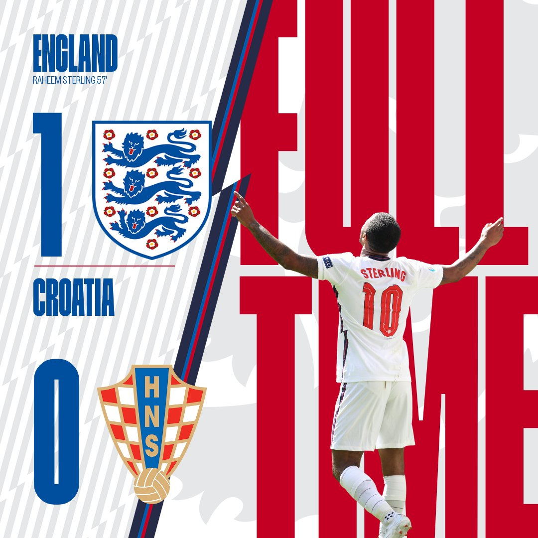Perfect start to #EURO2020 for @JPickford1 and @CalvertLewin14.  Well in, lads. 👏 #ENG