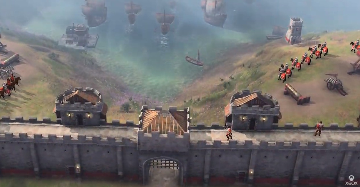 Age of Empires IV october 28th 2021 trailer e3 2021