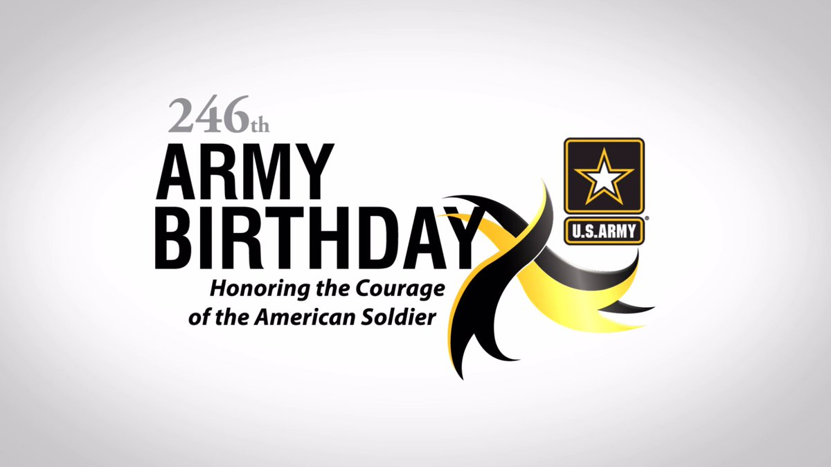 Attention World...  Let's party!  Monday, June 14th, we celebrate the #USArmy's 246th Birthday!  #ArmyBDay | #ProudtoServe https://t.co/Hxqxi8hWxL