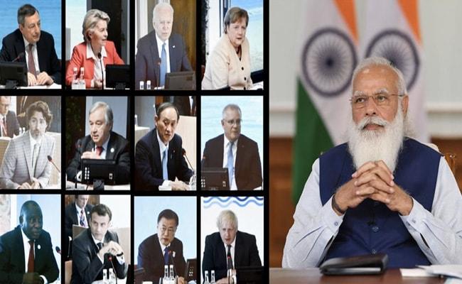 Cyberspace Must Foster, Not Curb, Democratic Values: PM Modi At G7 Summit https://t.co/DuqU624DuJ https://t.co/VQQbbA5DR4