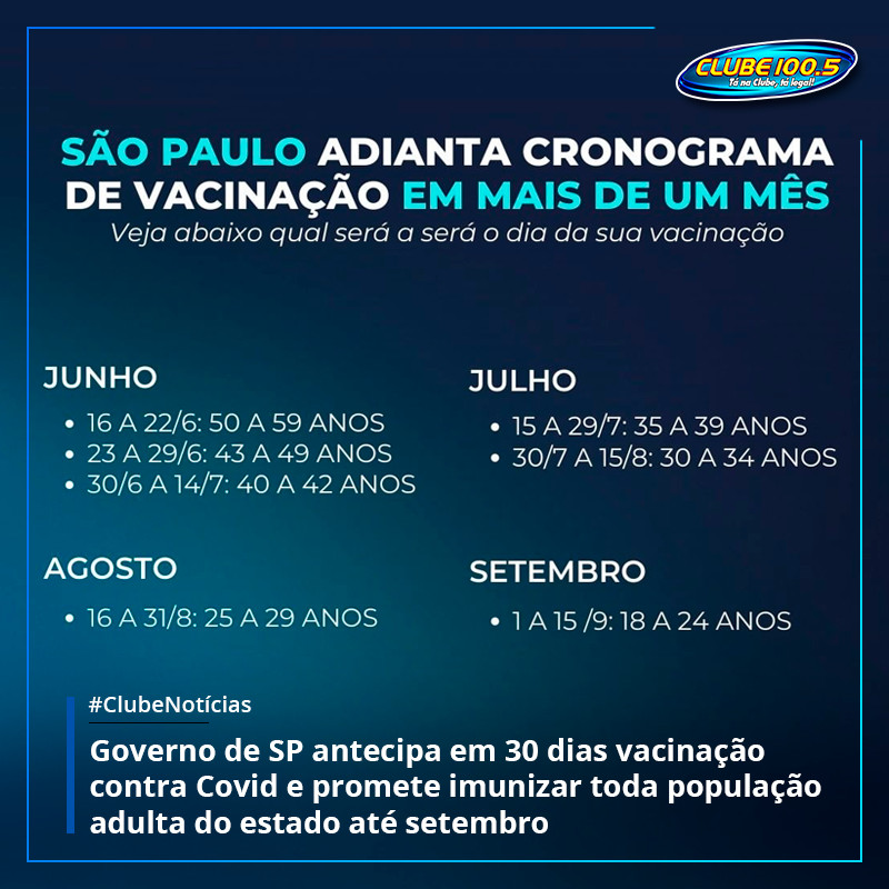 João Doria disse neste domingo que até 15 de setembro todos os adultos do estad... https://t.co/8VdQcPSqxG https://t.co/REPVRAqISD