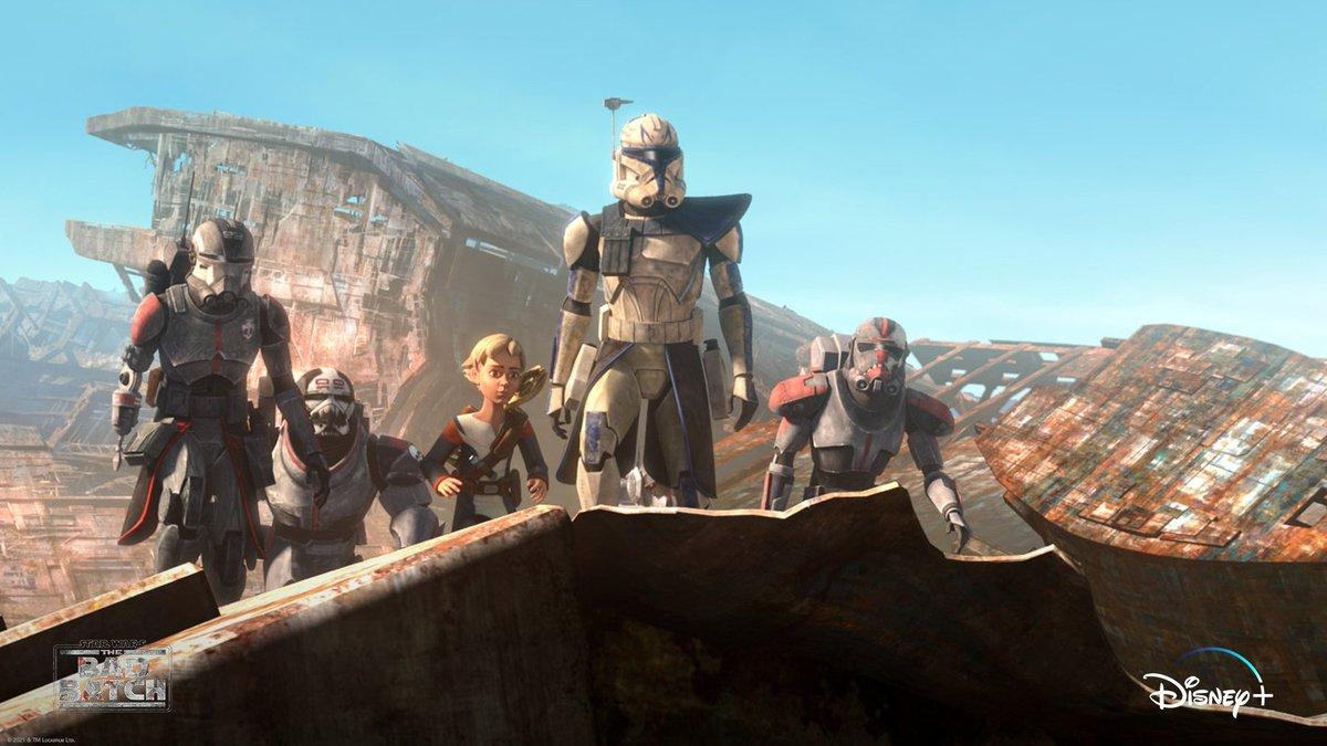 Battle Scars ➡️ Don't miss episode seven of Star Wars: #TheBadBatch , now streaming on @DisneyPlus. https://t.co/S28ARzRrn4