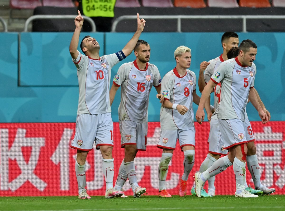"""SPORF on Twitter: """"🇲🇰 37-year old Goran Pandev scores North Macedonia's 1st ever goal at a major tournament! #EURO2020 #AUT #MKD… """""""