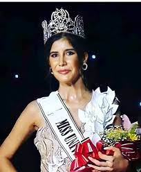 Some idea of the supreme talents of our future #Bitcoin 'ers - Miss #Paraguay was voted Miss Universe 2021:  https://t.co/6gDMzEWRZG https://t.co/R84yaNcrwh