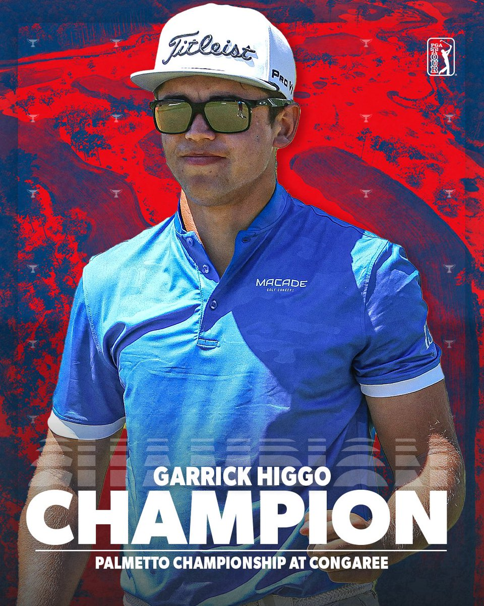 Welcome to the PGA TOUR, @Garrick_Higgo! 🇿🇦🏆    In just his second start on TOUR, the 22-year-old has won the Palmetto Championship at Congaree. 🤯 https://t.co/iE1wv7Hqcf