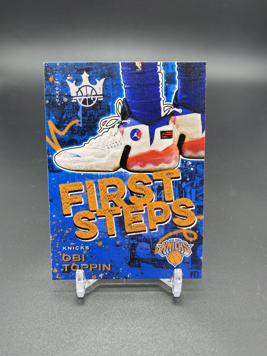 Anybody want any Knicks tape before I auction them tonight? Level 1 Quickley. Level 2 & Level 3 Obi. Obi First Steps & patch too   $50 @HobbyConnector https://t.co/XsgxSqlTOX