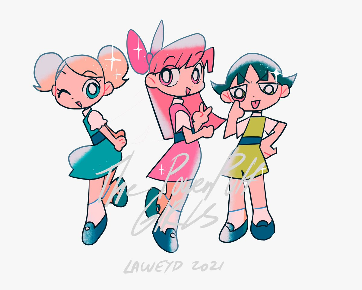 RT @laweyD: The Powerpuff Girls https://t.co/qLe3QWfRNt