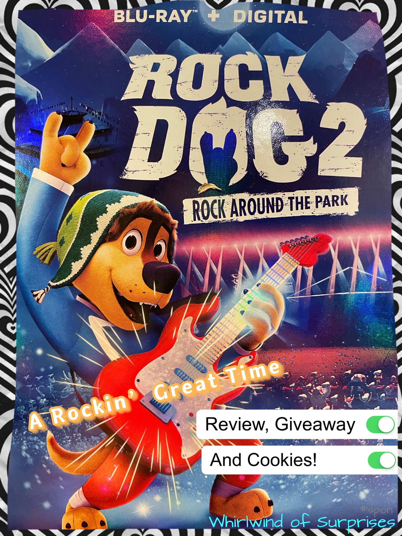 Rock Dog 2 Rock Around the Park Review, giveaway, and cookie treats