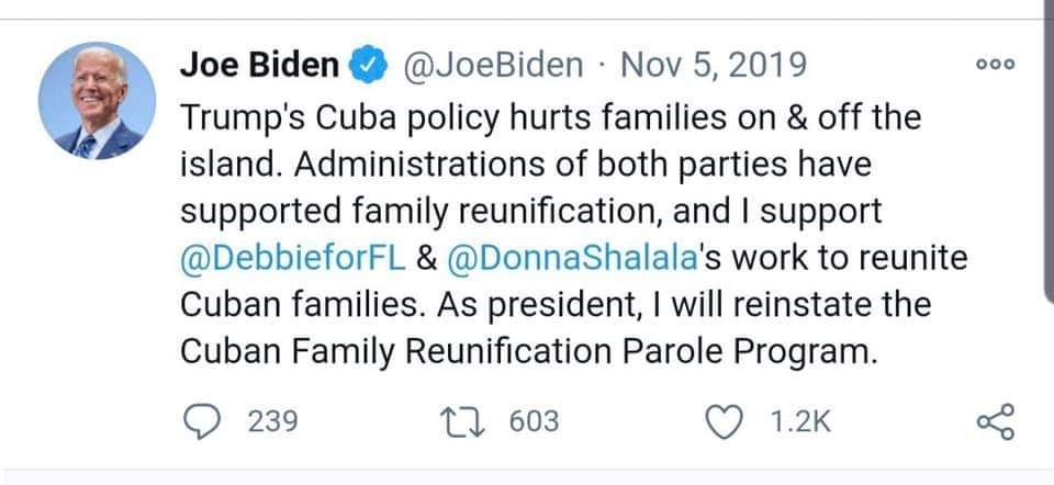 @SecBlinken @FoxNewsSunday We all know the situation that the country faces with the economy and Covid! But if for a second they read the Twitter accounts of all the families crying out for a solution to family reunification. Citizens and residents have the right to be heard  @POTUS @VP @SecMayorkas https://t.co/Urq66qJkFH