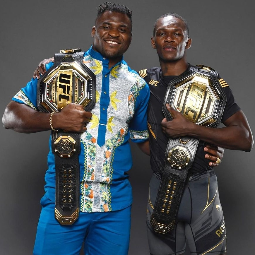 Congrats to my brother @stylebender for another successful title defense 🤴.   #ufc263 #AndStill #AfricaSons https://t.co/G7Xfx918Ql