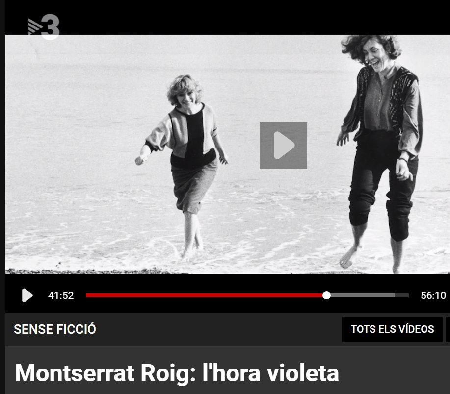 "Image for the Tweet beginning: 📺 Avui us recomanem ""Montserrat"