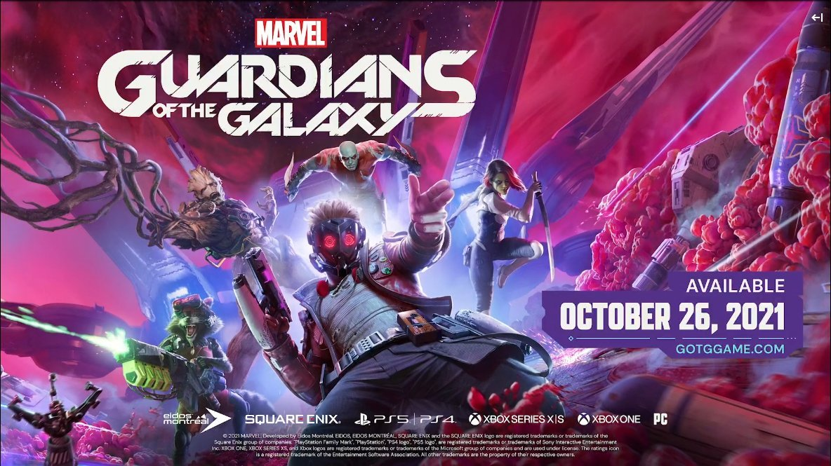 @thegameawards's photo on Guardians of the Galaxy