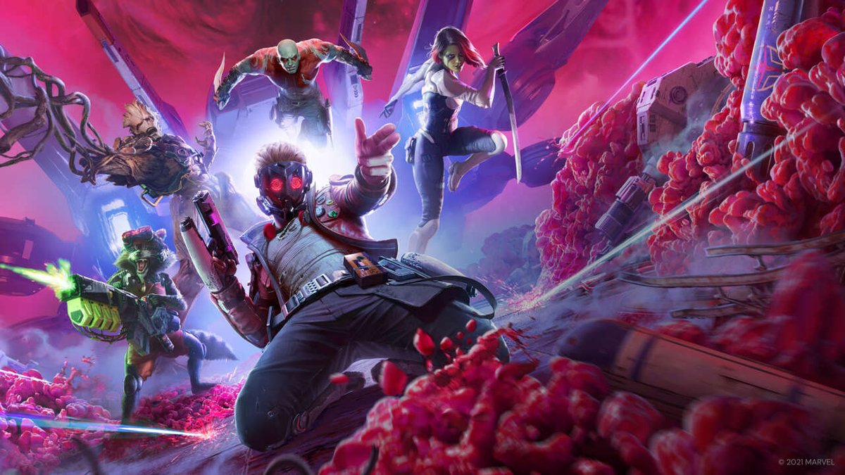 @GameSpot's photo on Guardians of the Galaxy