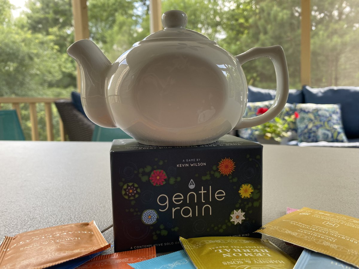 test Twitter Media - For our Meetup event this weekend, we're serving tea and cookies while playing A Gentle Rain from @KevinWilson42 & @MondoNews.  Still working on the line-up of other chill games for the day, and every attendee can take home a teapot as a memento. —WEM https://t.co/ef55MD2nwb