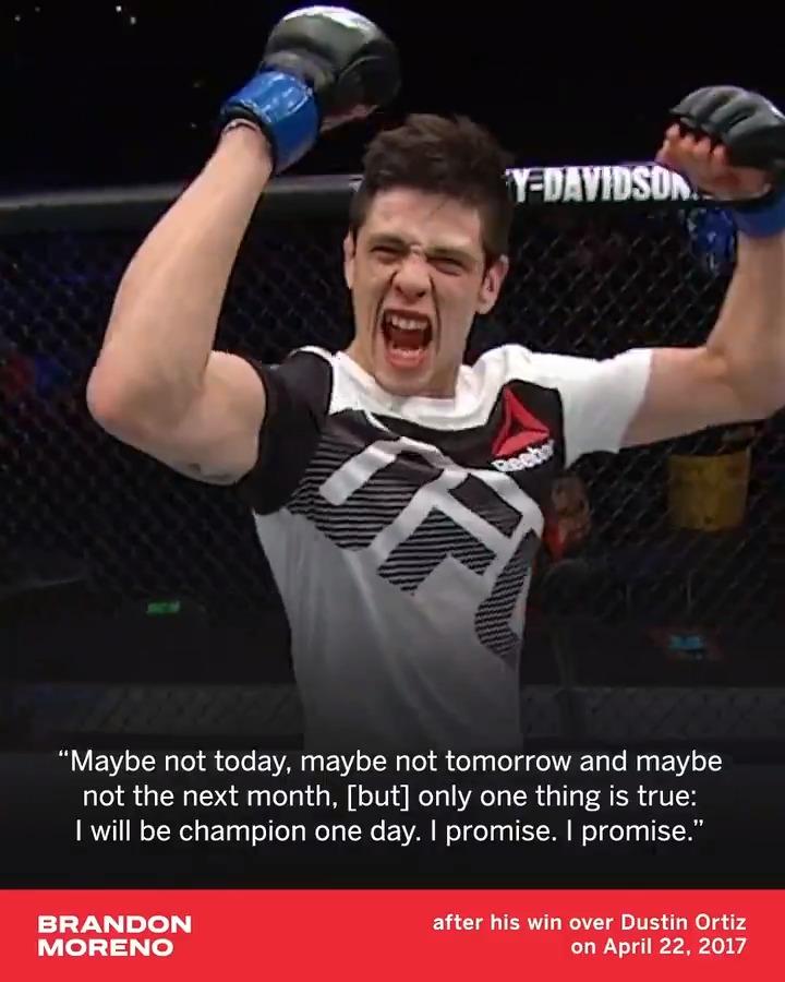 Brandon Moreno kept his promise made more than four years ago 🔮 #UFC263 (h/t @fxsizzzzle) https://t.co/LDekjy22uz