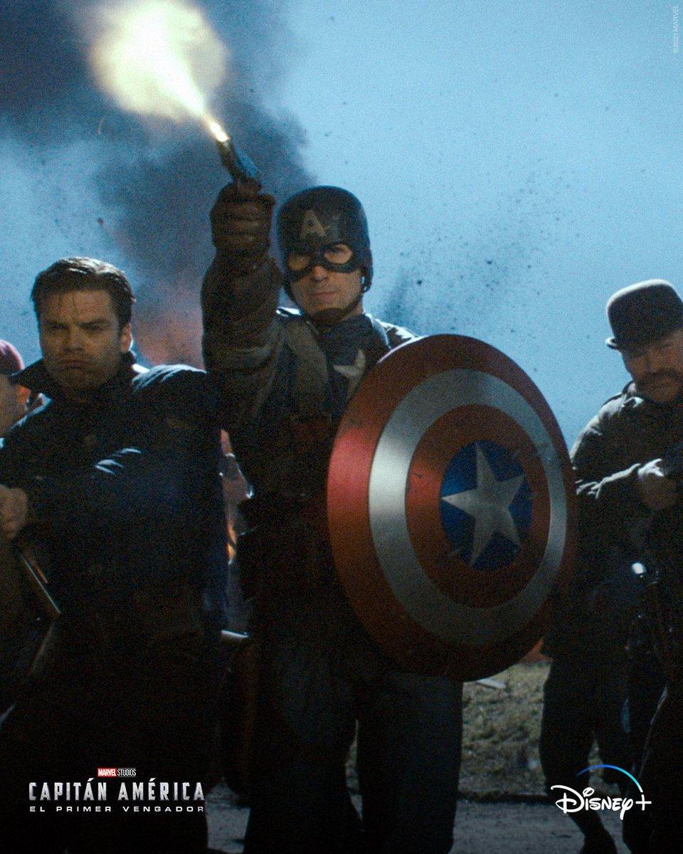 Marvellatam On Twitter Capitan America Y Los Howling Commandos Capitan America El Primer Vengador Disponible En Disneyplusla